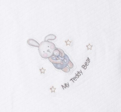 Imagem 2 do produto Manta para bebe em viscomfort matelassê Teddy Bear - Petit