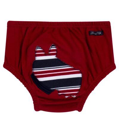 Imagem 5 do produto Regata com Cobre fralda em algodão egípcio Norfolk - Grow Up - 04070044.0017 RGTA C/ CB FRALDA DOG VERMELHO-G
