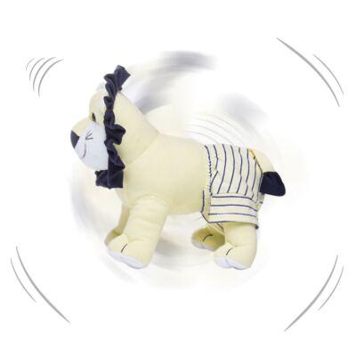 Imagem 5 do produto Kit: Bichinho Chocalho + Naninha Chocalho para bebe Leão - Anjos Baby