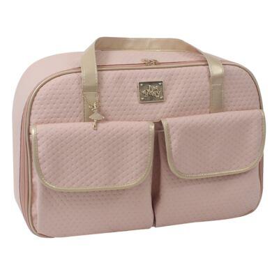 Imagem 2 do produto Mala maternidade para bebe + Bolsa + Frasqueira Térmica Nice Rosê - Just Baby