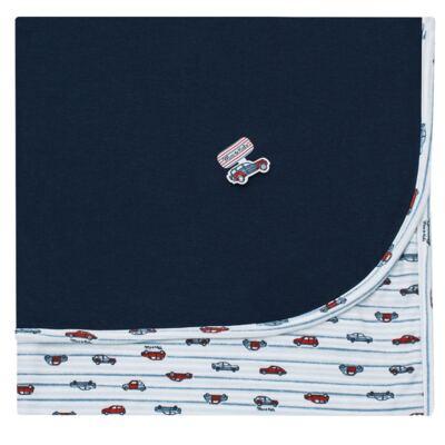 Imagem 1 do produto Manta em algodão egípcio c/ jato de cerâmica e filtro solar fps 50 Off Road - Mini & Kids