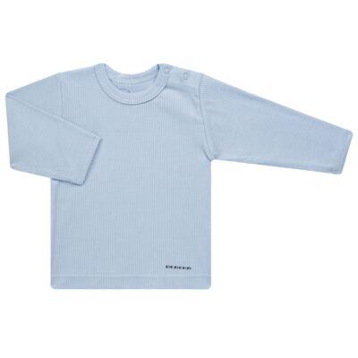 Imagem 2 do produto Pijama longo para bebe canelado Azul - Dedeka - DDK0840/25 Conjunto Canelado Azul-G