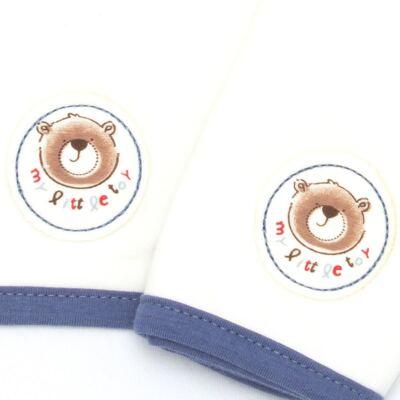 Imagem 2 do produto Kit com 2 fraldinhas de boca em malha Bear Toys - Classic for Baby