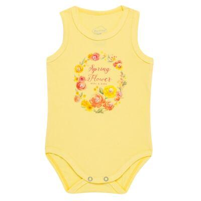 Imagem 1 do produto Body regata para bebe em spandex Spring Flower - Mini & Kids - BRNE1650 BODY NADADOR EXPAND FLORAL 3-G