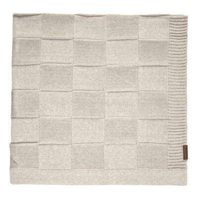 Imagem 1 do produto Manta para bebe em tricot Mosaic Caqui - Mini Sailor
