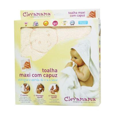 Imagem 2 do produto Kit: 2 Toalhas Max Splash & Wrap Creme e Rosa - Clevamama