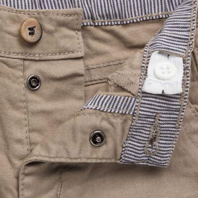 Imagem 3 do produto Calça para bebe em sarja c/ barra dobrável Khaki - Reserva Mini - RM23076 CALÇA BB CASUAL KHAKI-G