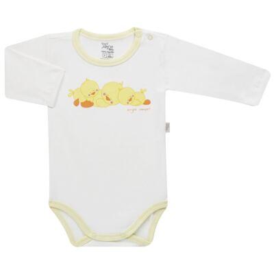 Imagem 2 do produto Pijama longo para bebe em suedine Piu Piu - Anjos Baby - AB1759006.004 PIJAMA BABY SUEDINE FEM PIU PIU T06-RN