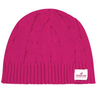 Imagem 1 do produto Touca em tricot Pink - Missfloor - 74GJ0003.376 TOUCA TRICOT-G