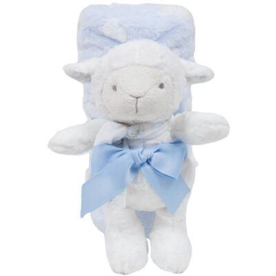 Imagem 1 do produto Ovelhinha com Mantinha em soft Nuvens Azul (3m+) - Buba