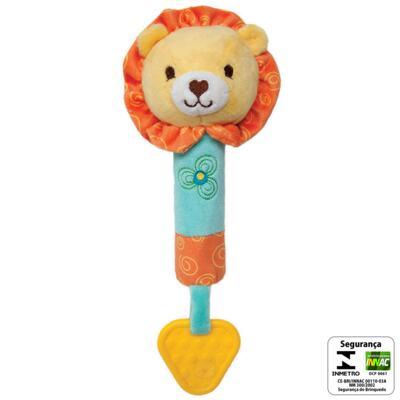 Imagem 2 do produto Buzina & Mordedor Safari Leãozinho (3m+) - Buba