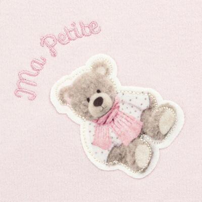 Imagem 3 do produto Jogo Maternidade com Macacão e Manta em algodão egípcio Bellamy - Petit