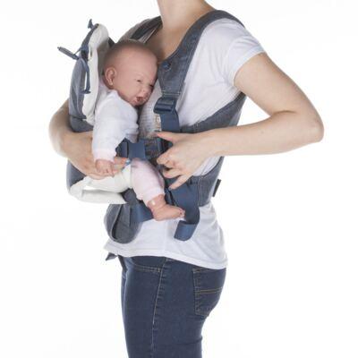 Imagem 3 do produto Canguru Easia Pure Denim - Bébé Confort
