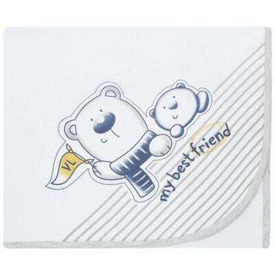 Imagem 1 do produto Manta em suedine Urso - Vicky Lipe
