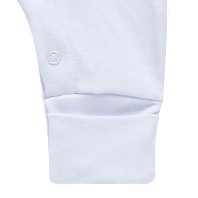 Imagem 3 do produto Jogo Maternidade com Macacão e Manta em algodão egípcio Aviões - Bibe