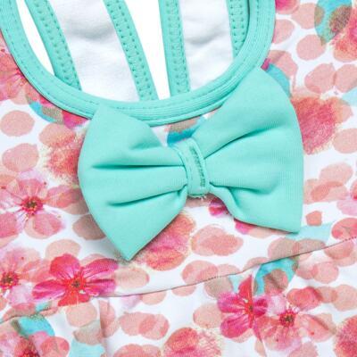 Imagem 2 do produto Maiô para bebe em lycra Zilá - Dedeka - DDK17404/E144 Maio Floral -3