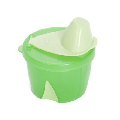 Imagem 2 do produto Porta leite em pó para viagem Verde + Mixer para fórmula ClevaMixer -  Clevamama