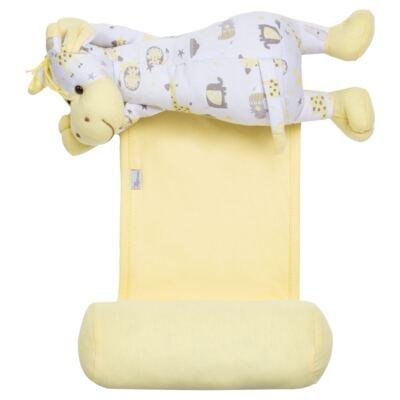 Imagem 1 do produto Segura nenê Toy em suedine Yellow Zoo - Anjos Baby