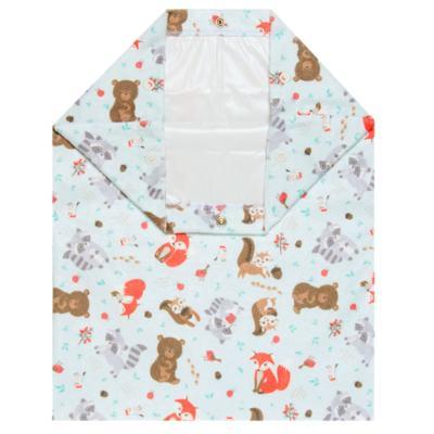 Imagem 1 do produto Saco para roupa suja em atoalhado Woodland - Petit