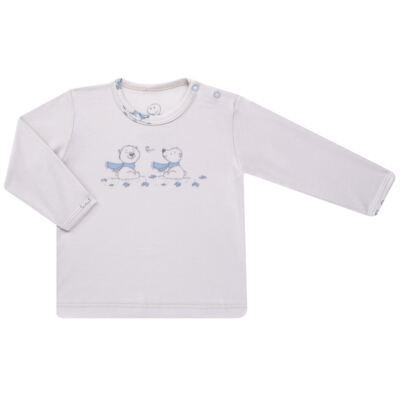 Imagem 2 do produto Pijama longo para bebe em suedine Smart Bear - Dedeka - DDK16563/E110 Pijama Suedine Urso Azul-M