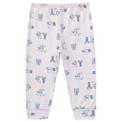 Imagem 4 do produto Pijama longo para bebe em suedine Smart Bear - Dedeka - DDK16563/E110 Pijama Suedine Urso Azul-M