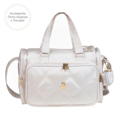 Imagem 1 do produto Bolsa para bebe Anne Classic Off White - Masterbag