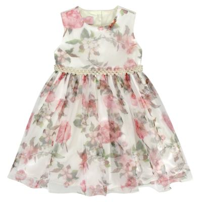 Imagem 1 do produto Vestido para bebe em tule Lauren - Miss Sweet - SW2058 Vestido Tule Floral-1