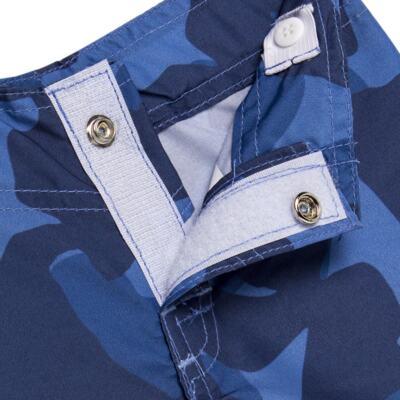 Imagem 5 do produto Camiseta com Bermuda em tactel Shark - Cara de Criança - KIT 1 2311 CCA+BT TUBARAO-4