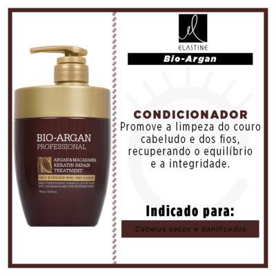 Imagem 2 do produto Elastine Bio Argan & Macadâmia - Condicionador - 700ml