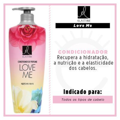 Imagem 2 do produto Elastine Love Me - Condicionador de Perfume - 400ml