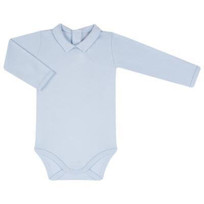 Imagem 2 do produto Jardineira com Body longo para bebe em viscomfort Chevalier - Petit - 16094167 JARDINEIRA BODY ML VISCOMF/SU URSO -P