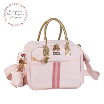 Imagem 1 do produto Bolsa térmica para bebe Amy Sweet Rosa - Masterbag