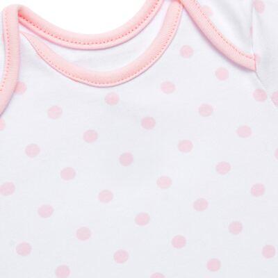 Imagem 3 do produto Conjunto Pagão Princess: Casaco + Body curto + Calça para bebe em algodão egípcio - Bibe - 39F18-G79 CONJ PAGAO POÁ-RN