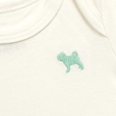 Imagem 2 do produto Body longo para bebe em suedine Off White - Charpey - CY21390.138 BODY SUEDINE ML OFF WHITE -P