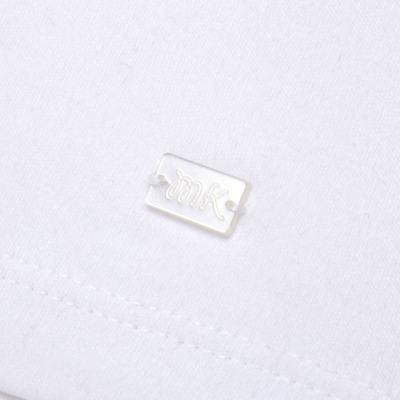 Imagem 3 do produto Macacão curto com golinha para bebe em algodão egípcio c/ jato de cerâmica e filtro solar fps 50 L'Hortensia - Mini & Kids - MCCG1746 MACACÃO M/C C/ GOLA SUEDINE HORTÊNCIAS-G