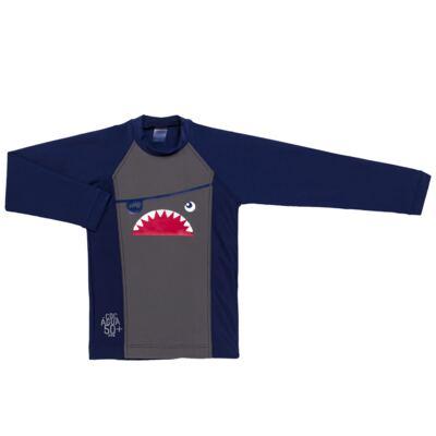Imagem 2 do produto Conjunto de Banho Tuba: Camiseta surfista + Sunga - Cara de Criança - KIT 2 2571: SB2571+CSAL2571-4