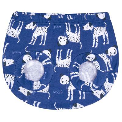 Imagem 2 do produto Pack Dalmatians Blue: 02 Cobre Fraldas em high comfort  - Vicky Lipe - 10220001.37 PACK 2 COBRE FRALDAS - SUEDINE-P