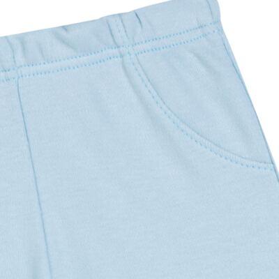 Imagem 3 do produto Pack 2 mijões para bebe em suedine Azul Matelassê - Grow Up - 09140052.0003 KIT CALÇAS BEAR FRIEND AZUL-P