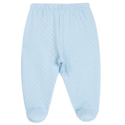 Imagem 4 do produto Pack 2 mijões para bebe em suedine Azul Matelassê - Grow Up - 09140052.0003 KIT CALÇAS BEAR FRIEND AZUL-P