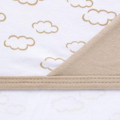 Imagem 5 do produto Jogo Maternidade com Macacão e Manta para bebe em malha Ovelhinha - Pingo Lelê - PL65721 KIT PRESENTE MACACAO E MANTA OVELINHA-RN