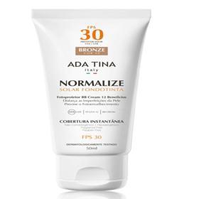 Ada Tina Normalize FT BB Cream Protetor Solar FPS 30 - Ada Tina Normalize FT BB Cream Protetor Solar FPS 30 50g - 40 Bronze