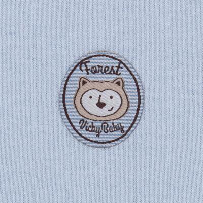 Imagem 5 do produto Pack Forest Bear: 02 regatas em suedine - Vicky Baby - 1041-4250 PACK 2 REGATA URSO FOREST -M