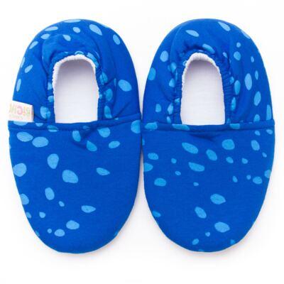 Imagem 1 do produto Pantufa Blue Spots - Cara de Criança - P2347 ARRAIA P PANTUFA M/MALHA-25/26