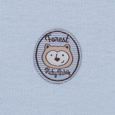 Imagem 5 do produto Pack Forest Bear: 02 regatas em suedine - Vicky Baby - 1041-4250 PACK 2 REGATA URSO FOREST -P