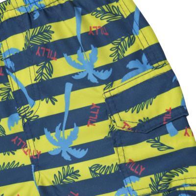 Imagem 5 do produto Camiseta c/ Bermuda em malha Maverick - Tilly Baby - TB166303 CONJ MASC TACTEL COQUEIROS-3