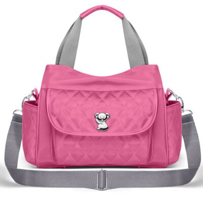 Imagem 3 do produto Kit Mala Maternidade para bebe + Bolsa Havana + Frasqueira Térmica Aruba + Kit Acessórios + Trocador Portátil Colors Pink - Classic for Baby Bags