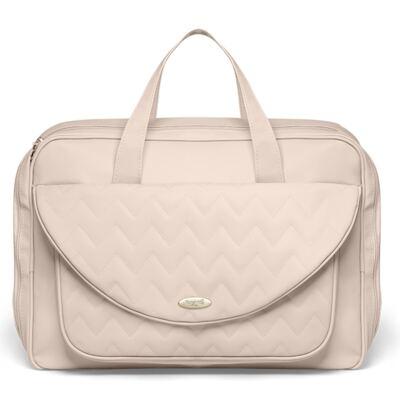Imagem 2 do produto Mala Maternidade para bebe + Bolsa Gênova + Frasqueira Térmica Firenze Chevron Ágata - Classic for Baby Bags