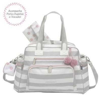 Imagem 2 do produto Bolsa para bebe Everyday + Frasqueira Térmica Emy Candy Colors Pink - Masterbag