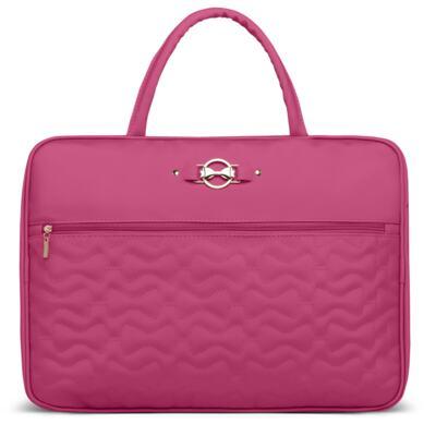 Imagem 2 do produto Mala Maternidade para bebe + Bolsa Liverpool + Frasqueira Térmica Melrose Laços Matelassê Pink - Classic for Baby Bags