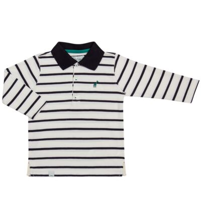 Imagem 1 do produto Camiseta Polo em malha Champions - Toffee - 65PM0001.321 CAMISETA POLO M/L - MALHA-1